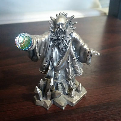 Myth & Magic THE WIZARD OF WINTER from Tudor Mint, RARE