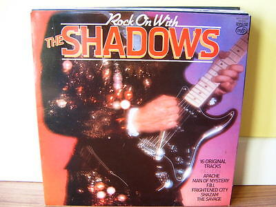 The Shadows - Rock On With - Lp - N/mint