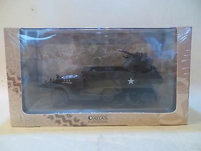Atlas Editions 'm16 Multiple Gun Motor Carriage'. Us Wwii Army. Mib/boxed 1:43.