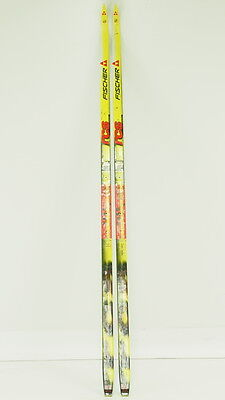 Fischer RCS Classic Nordic Cross Country Skis 190cm Mounted Once W/O Bindings