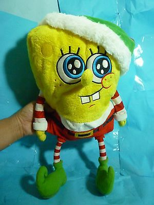 Spongebob  Macy's Holiday Plush--About 17 Inches Tall--PreOwned & Very Clean