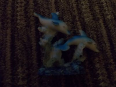 Beautiful Dolphin Ornament Superb Condition