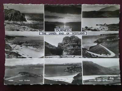 Postcard Rp Sutherland Durness - The Lands End Of Scotland