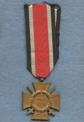 WW1 Germany Honor Cross Medal 1914 - 1918