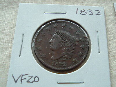 American Large Cent 1832  nice coin!