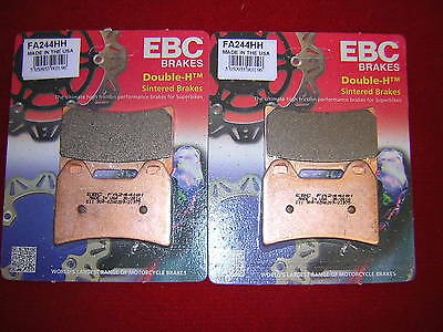 Vehicle Parts & Accessories EBC HH Front Brake Pads For Ducati 1999 748 FA244HH Brake Pads