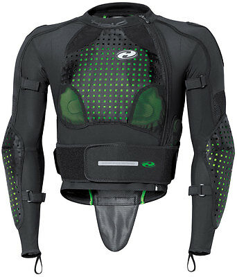 Held Kendo Motorcycle Body Armor Protector Shirt Black Size-Large - 948218L