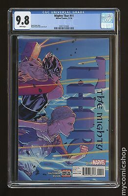 Mighty Thor (2015 2nd Series) #11A CGC 9.8 (0301121008)