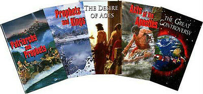 Conflict of the Ages Series Set by Ellen G. White ( AA, DA, PP, PK, GC 5books)