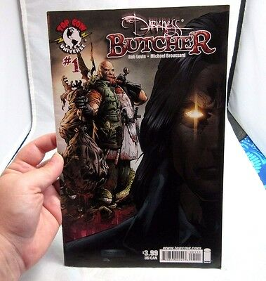 The Darkness Butcher #1 comic book. Top Cow Universe. April 2008