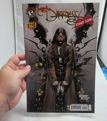 The Darkness First Look comic book. Top Cow Universe. Nov. 2007