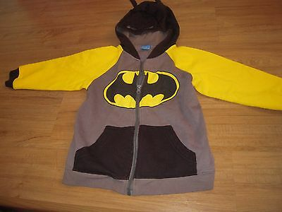 boys jumper size 6 - Batman with mask in hoodie