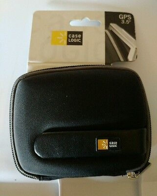 "New Case Logic 3.5"" GPS Carry Case- Black & Gray"