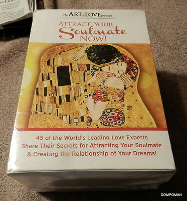 Attract Your Soulmate Now! Seminar 21 Audio CD SET The Art of Love Arielle Ford
