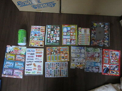 USED Anime Seal etc Lot free shipping from Japan One piece Naruto torico nisekoi