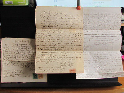 Civil War period Erie County Pennsylvania exempted from draft documents