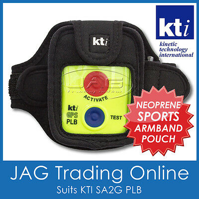 KTI NEOPRENE SPORTS ARMBAND CASE - Arm Band for Personal Locator SA2G PLB Beacon