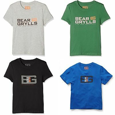 Craghoppers Bear Grylls Childrens/Kids Graphic Short Sleeved T-Shirt