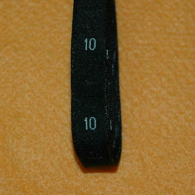 500 Pcs Woven Clothing Number Size Tags Label DIY Sewing Wholesale Black Size 10