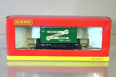 HORNBY R6182 SOUTHERN SR CONTAINER AND CONFLAT Waggon Nr. 39153 UNGEBRAUCHT ni