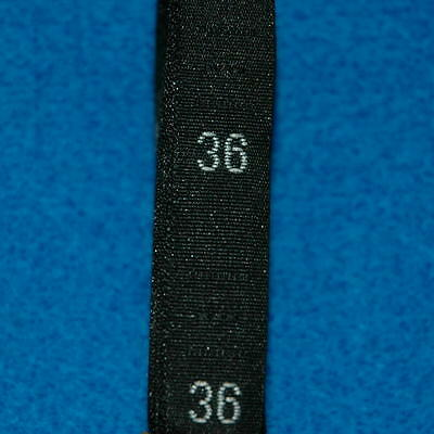 500 Pcs Woven Clothing Number Size Tags Label DIY Sewing Wholesale Black Size 36