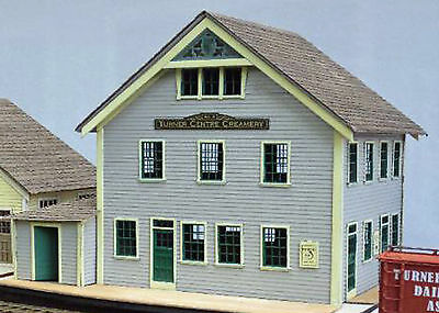 WHARF DAIRY CREAMERY S Sn3 Model Railroad Unpainted Structure Laser Kit DF424s