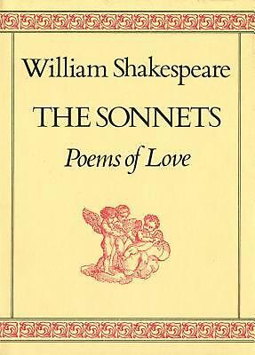 The Sonnets: Poems of Love by William Shakespeare Hardcover Book (English)