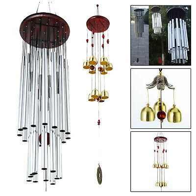 Chapel Church Bells Deep Resonant Tone Pipe Sound Windchime Wind Chimes Relax