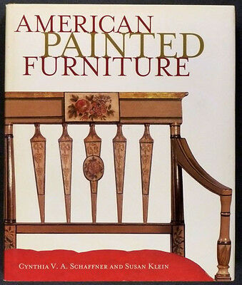 Antique American Regional Painted Furniture- 1790-1880 Table Chair & Chest, More