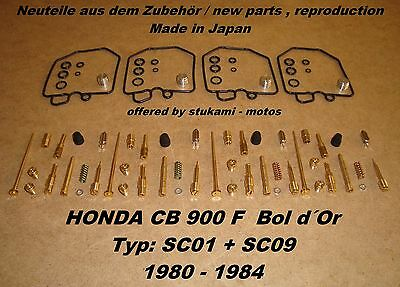 Honda CB 900 F_Bol d Or_SC01_carburateur reparation kit_1980-84_Vergaser Rep.Set