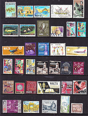 Malta stamps - 60 Used