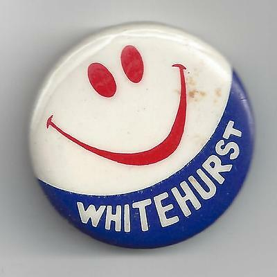 Whitehurst Smiley Campaign Pin-Button