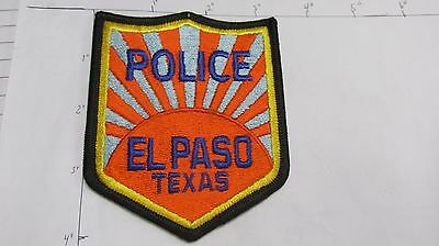 El Paso Police Dept Eppd Ep Sunshine Sun Rays Oep Old City Colorful Texas Patch