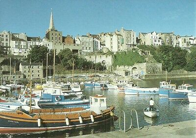 The Harbour, Tenby, Dyfed.