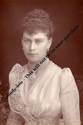 mm769 - Princess May of Teck future Queen Mary -  Royalty photo 6x4