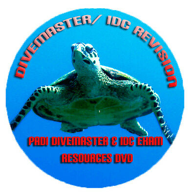 Pass the PADI IDC & Divemaster DM Course and Exam - Revision DVD