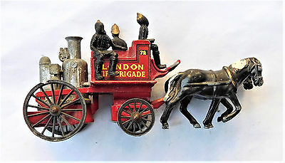 NO RESERVE Matchbox Yesteryear Y-4 1905 Shand-Mason Fire Engine London Brigade