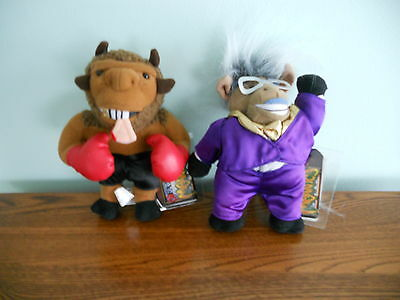 Mike Bison And Donkeyng --  Infamous Meanies -- Set Of 2