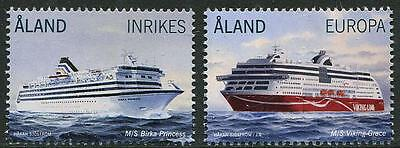 HERRICKSTAMP NEW ISSUES ALAND Passenger Ferries 2014 Stamps