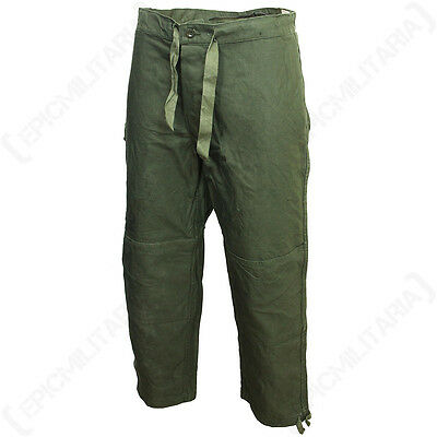 Belgian Army Original M88 TROUSERS OIive Green All Sizes - Military Pants Cotton