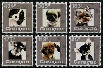 HERRICKSTAMP NEW ISSUES CURACAO Dogs
