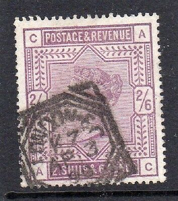QV 1883 2/6d DEEP LILAC ? SG;179 VERY GOOD CONDITION SEE SCAN