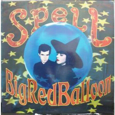 """SPELL Big Red Balloon 12"""" VINYL 3 Track B/w Ever Constant Sea And Stone Is Ver"""