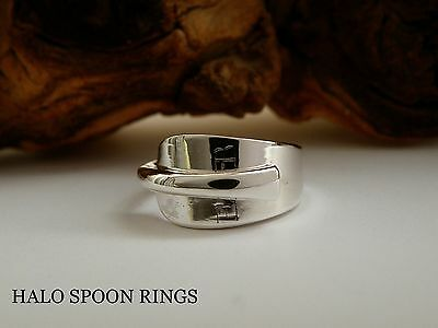 Very Pretty Georgian Solid Silver Spoon Ring 1795 *** Perfect Valentine Gift ***