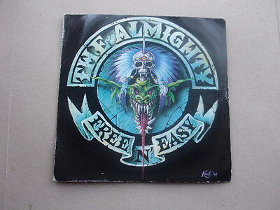 """THE ALMIGHTY - Free n easy - 7"""" single EX Con"""