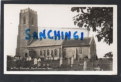 Bacton On Sea Church, Norfolk Rp Posted Norwich 1951