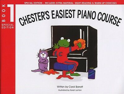 Chester's Easiest Piano Course - Carol Barratt. Book's 1 & 2 Available