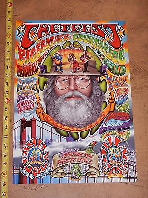 2005 Chet Fest Original Concert Poster, Jim Phillips, Tribute To Chet Helms