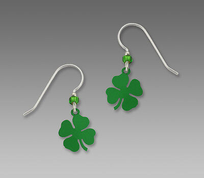 f29118796 Sienna Sky 4 Leaf Clover Earrings STERLING Silver Four Dangle + Gift  Wrapped Box