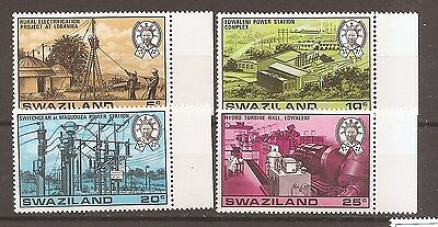 Swaziland 1978 Hydro-Electric Power SET SG 289-292 Mint Never Hinged w8879